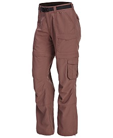 EMS® Women's Camp Convertible Water-Repellent Zip-Off Cargo Pants