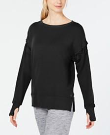 Ideology Crisscross-Sleeve Top, Created for Macy's