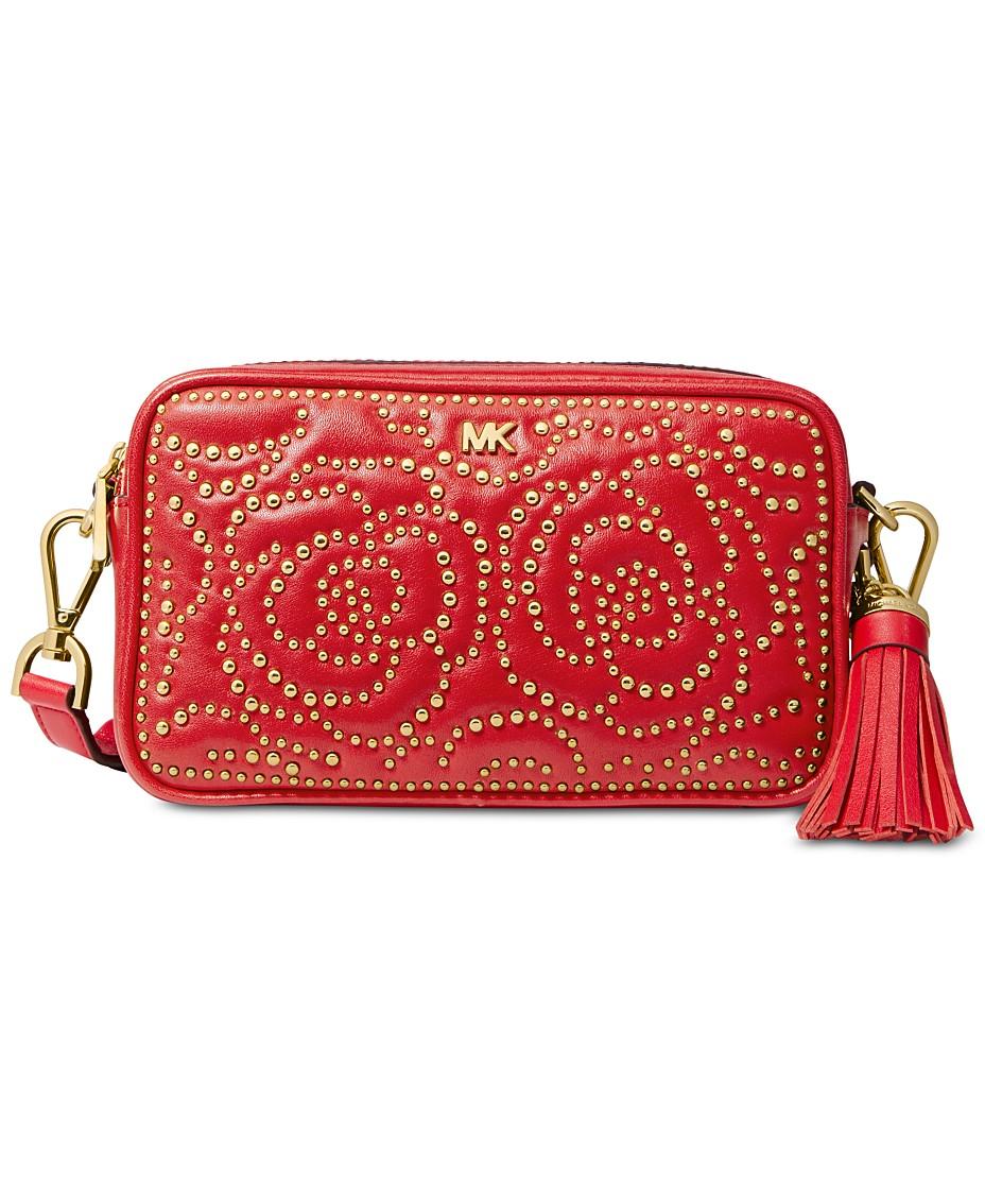 d60e34edf5 Michael Kors Quilted Stud Camera Bag & Reviews - Handbags ...