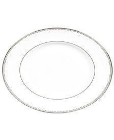 "Vera Wang Wedgwood Dinnerware, 15.25"" Grosgrain Oval Platter"