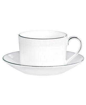 Dinnerware, Blanc sur Blanc Teacup