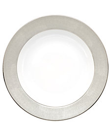 Monique Lhuillier Waterford Dinnerware, Stardust Rim Soup Bowl