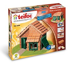 Teifoc House Tile Roof Brick Construction Set