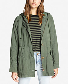 Sanctuary Commodore Hooded Anorak Jacket