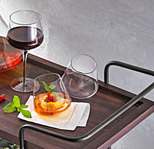 Hotel Collection Set of 2 Tilted Glasses, Created for Macy's