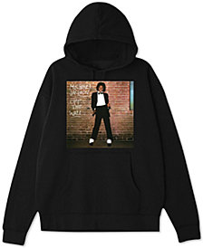 Michael Jackson Off The Wall Men's Regular-Fit Graphic Hoodie