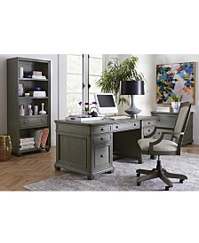 Sloane Home Office Furniture Collection, Created for Macy's
