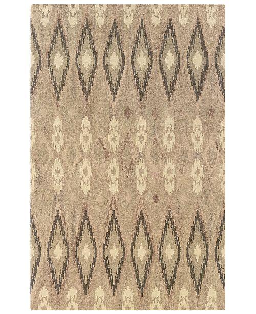 """Oriental Weavers Anastasia 68001 Sand/Ivory 3'6"""" x 5'6"""" Area Rug"""