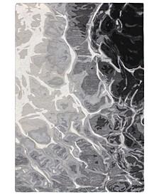 """Corsica 9146 Water 2' x 7'6"""" Runner Area Rug"""