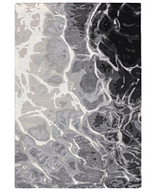 "Liora Manne' Corsica 9146 Water 2' x 7'6"" Runner Area Rug"