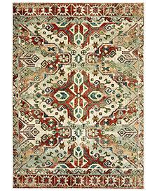 "Oriental Weavers Dawson 8533A Rust/Ivory 7'10"" x 10'10"" Area Rug"