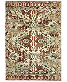 "Oriental Weavers Dawson 8533A Rust/Ivory 3'10"" x 5'5"" Area Rug"