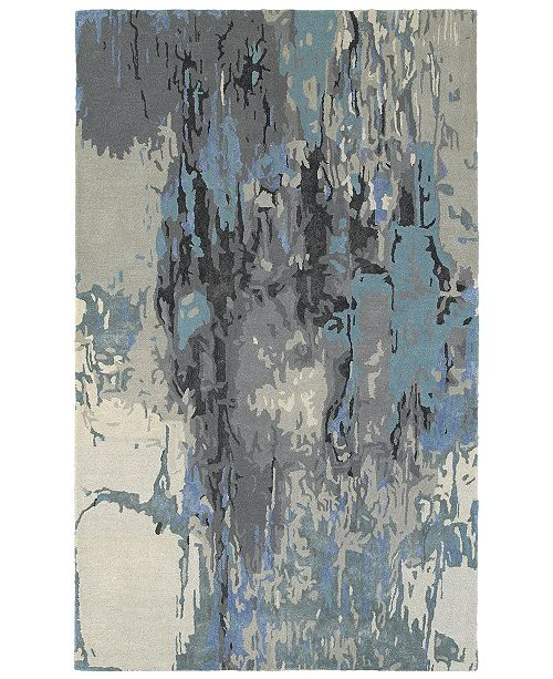 Oriental Weavers Galaxy 21906 Blue/Gray 8' x 10' Area Rug