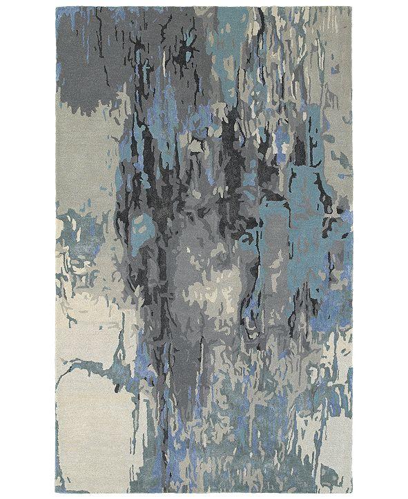 Oriental Weavers Galaxy 21906 Blue/Gray 5' x 8' Area Rug