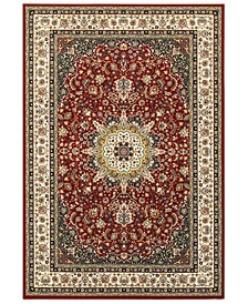"Kashan 119N Red/Ivory 7'10"" x 10'10"" Area Rug"