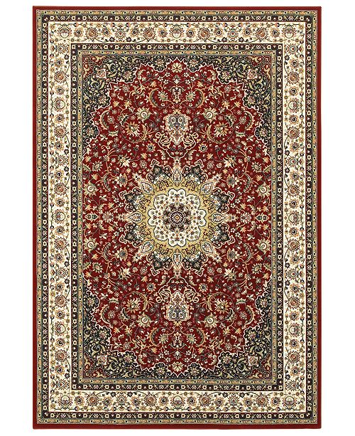 """Oriental Weavers Kashan 119N Red/Ivory 9'10"""" x 12'10"""" Area Rug"""
