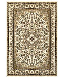 "Kashan 119W Ivory/Beige 7'10"" x 10'10"" Area Rug"