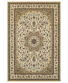 "Oriental Weavers Kashan 119W Ivory/Beige 7'10"" x 10'10"" Area Rug"