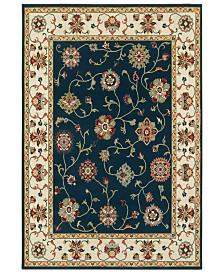 """Oriental Weavers Kashan 2336B Navy/Ivory 7'10"""" x 10'10"""" Area Rug"""