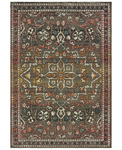 "Oriental Weavers Mantra 4929 7'10"" x 10'10"" Area Rug"