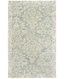Tallavera 55604 Blue/Ivory 10' x 13' Area Rug