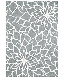 "Oriental Weavers Verona Shag 2061L Gray/Ivory 7'10"" x 10'10"" Area Rug"