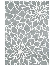 "Oriental Weavers Verona Shag 2061L Gray/Ivory 5'3"" x 7'6"" Area Rug"