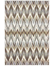 "Oriental Weavers Verona Shag 4D Gray/Taupe 7'10"" x 10'10"" Area Rug"