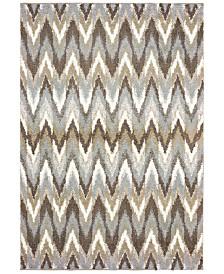 "Oriental Weavers Verona Shag 4D Gray/Taupe 6'7"" x 9'6"" Area Rug"