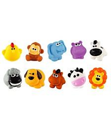 10 Piece My Animals Bath Playset