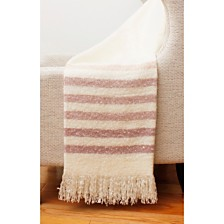 "Ferdiano Mohair Decorative Throw, 50"" x 60"""