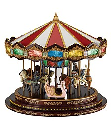 Marquee Deluxe Carousel Animated LED Musical