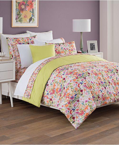 Tracy Porter Kim Parker Padma's Garden Queen Comforter Set