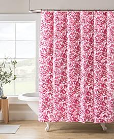 """Kim Parker 72"""" x 72"""" Floral Shower Curtain"""