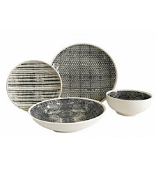 Baum Dalton 16 Piece Dinnerware Set