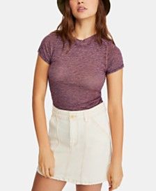 Free People Night Sky Crewneck T-Shirt