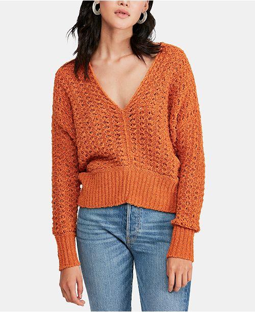 Free People Best of U V-Neck Sweater