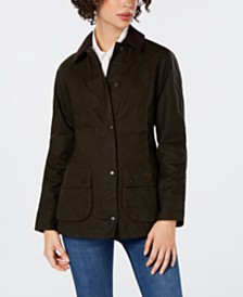 Barbour Beadnell Waxed Cotton Coat