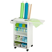 Gift Wrapping Storage Cart