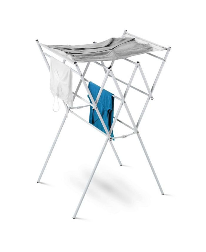 Honey Can Do - Expandable Drying Rack with Mesh Top, White Finish