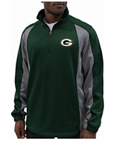 G-III Sports Men s Green Bay Packers Offsetting Penalty Quarter-Zip Pullover 92eac8455