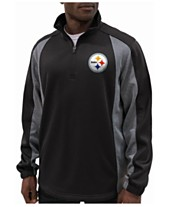 G-III Sports Men s Pittsburgh Steelers Offsetting Penalty Quarter-Zip  Pullover 6229749f6