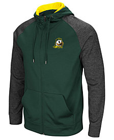 Colosseum Men's Oregon Ducks Magic Rays Full-Zip Hooded Sweatshirt