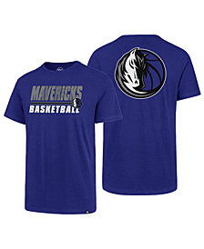 '47 Brand Men's Dallas Mavericks Fade Back Super Rival T-Shirt