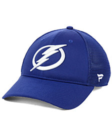 Fanatics Tampa Bay Lightning Elevated Core Trucker Snapback Cap