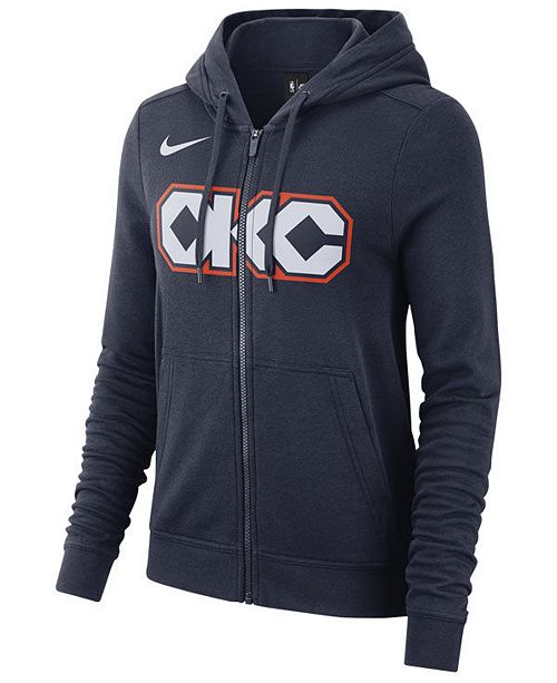 ... Nike Women s Oklahoma City Thunder City Edition Full-Zip Hoodie ... 0dcc2a502