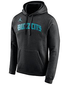 Nike Men's Charlotte Hornets City Club Fleece Hoodie