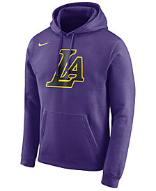 Nike Men's Los Angeles Lakers City Club Fleece Hoodie