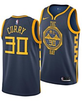 1f6f762cb79 Nike Men's Stephen Curry Golden State Warriors City Swingman Jersey 2018