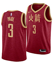 Nike Men's Chris Paul Houston Rockets City Swingman Jersey 2018